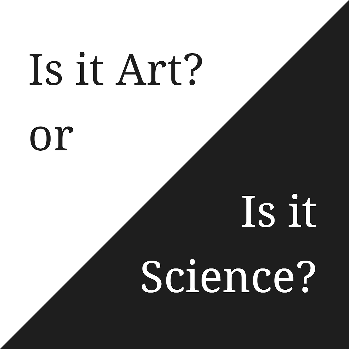 Is It Art or Is It Science? : 과학과 예술의 만남